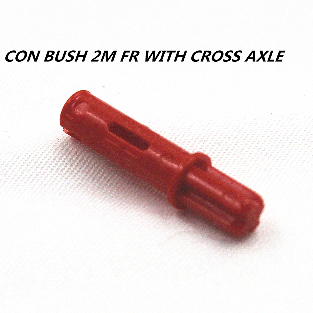 LEGO LOT OF 100 NEW RED TECHNIC BUSH AXLE CONNECTOR PIECES PARTS