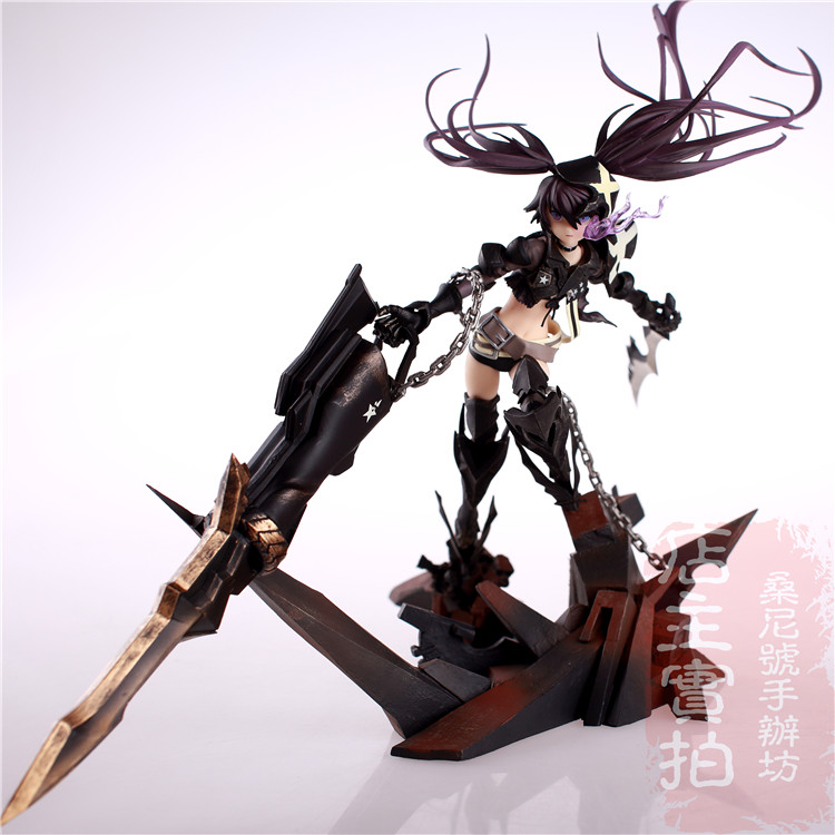 Hot Game Anime Insane Black Rock Shooter 1/8 Scale Huge 40cm Action Figure hot game anime insane black rock shooter 1 8 scale huge 40cm action figure