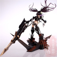 Hot Gry Anime Black Rock Shooter Insane 1/8 Skala Ogromne 40 cm Figurka