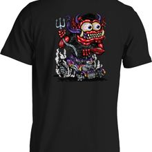 79da94f5d Highway to Hell Hot Rod T Shirt Road Devil Monster Cartoon Small to 6XL and  Tall