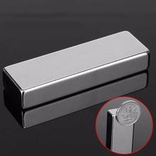 1pc Powerful N52 Cuboid Block Neodymium Magnets Permanent Super Strong Rare Earth Fridge Magnet 60*20*10mm Mayitr цена 2017