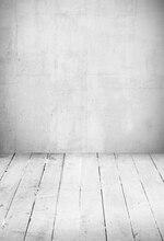 Huayi concreto cinza arte da parede tecido gotas recém-nascidos fotografia chão pano de fundo de madeira do vintage da foto do retrato fundos xt-4175
