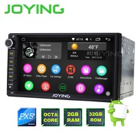 2G 32G New Android 5 1 Quad Core Universal Car Audio Stereo GPS Navigation Double 2