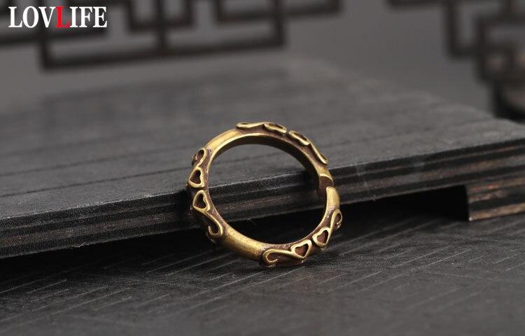 copper key rings (15)