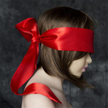 New Multi Shades Long Silk Blindfold Ribbon For Sexy Women