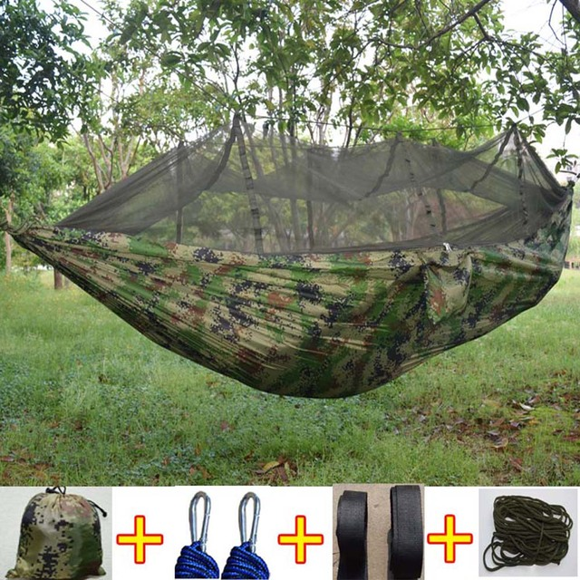 Mosquito Flyknit Hammock Chair Double Parachute Net Tourism 8Nmn0w