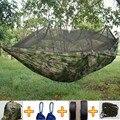 Double Parachute Moustiquaire Hamac Chaise Tourisme Flyknit Hamac Rede Jardin Balançoire Camping Hamac de Couchage Hamac