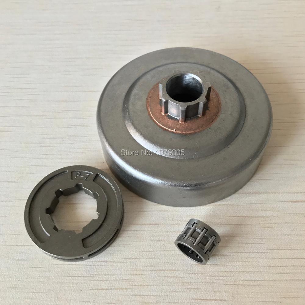 Цилиндр сцепления, обод, звездочка, игольчатый подшипник для бензопилы STIHL MS180 MS170