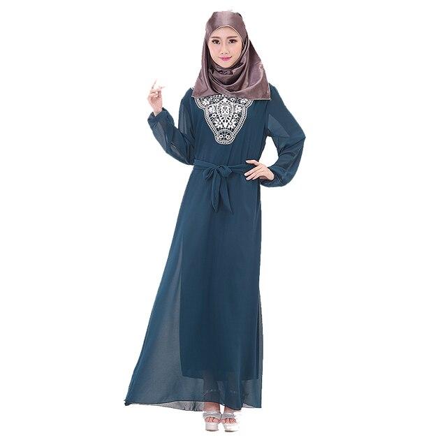 2018 Summer Muslim Clothing Ropa Arabe Robe Musulmane Islamic Abaya