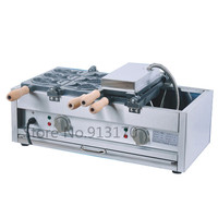 Electric Fish Shape Cake Machine Taiyaki Machine For Japanese Style Food Taiyaki Waffle Making With 6