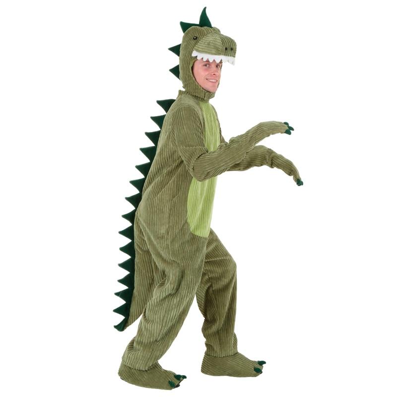 Adult T Rex  Dinosaur Cosplay Halloween Costume Funny Animal Fancy Dress