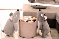 small cute plush lying bear toy soft bear doll pillow gift about 60cm