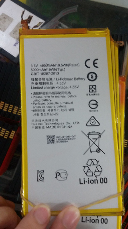 Jinsuli Rechargeable-Battery HB3873E2EBC Honor Huawei 5000mah Original For X2 Mediapad