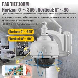 Image 2 - OwlCat SONY CMOS Wifi Dome IP Camera x5 Optical Zoom Outdoor Waterproof Wireless IR PTZ CCTV HD 2MP 5MP Microphone Memory slot