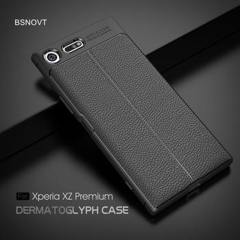 For Sony Xperia XZ Premium Case Anti-knock Silicone Leather Phone Case For Sony Xperia XZ Premium Cover For Sony XZ Premium Case goowiiz красный sony xperia xz premium