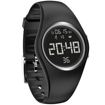 Waterproof Digital Smart Sports Women Watch Pedometer Monitor Calorie Intelligent Motion Fitness Watches Fitness Creative Clock