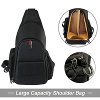 B75 DSLR Shoulder Camera Bag Video Portable Diagonal Triangle Carry Case For Canon 600D D600 7D