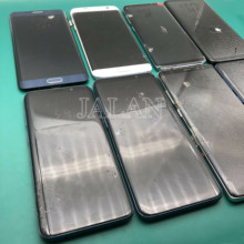 Практика ЖК дисплей для Samsung Galaxy S8 плюс G955 touch работает дисплей есть точка для практики как сделать ремонт S средний рамки