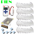 5630 LED Module 3 leds Injection Garland Waterproof for sign letter storefront cool white+ RF Controller +Power supply Free ship