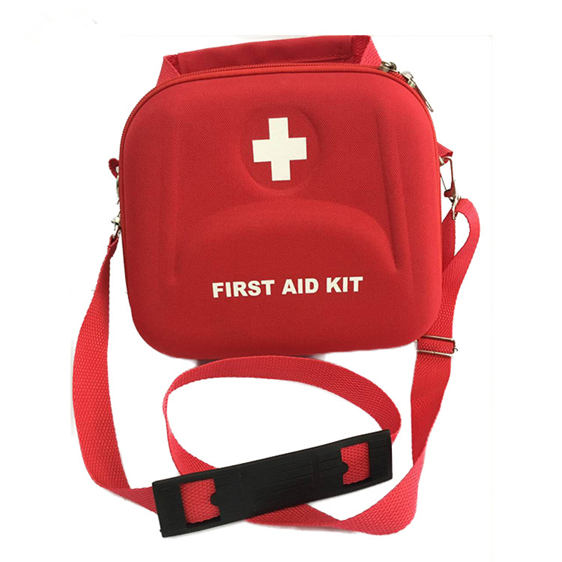 600D Nylon Striking Cross Symbol High-density Ripstop Sports Camping Home Medical Emergency Survival First Aid Kit Bag Outdoors