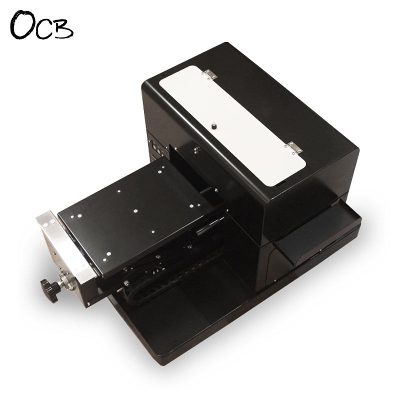 A4 Size Flatbed Printer DTG T-Shirt Garment Phone Case Printer Non-Coating ID Card Printer With Heat Function 6 Colors CISS стоимость