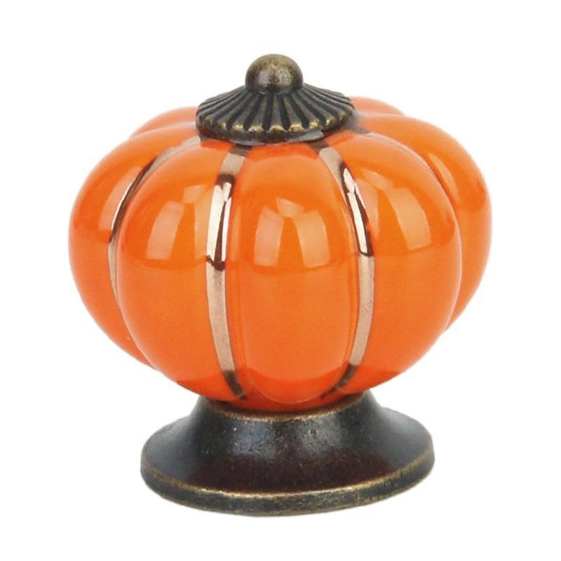 HOT SALE Cute Drawer Pull Knob Cabinet Door Handle Knob - Orange hot sale extra door