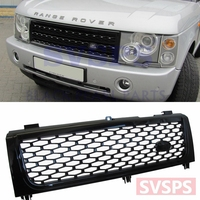 Tuning Parts Car styling Supercharged look Front Middle Grill Grille For Land Rover For Range Rover vogue L322 2002 2005 year