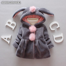 Baby Girl Jacket and Coat Winter Faux Fur Baby