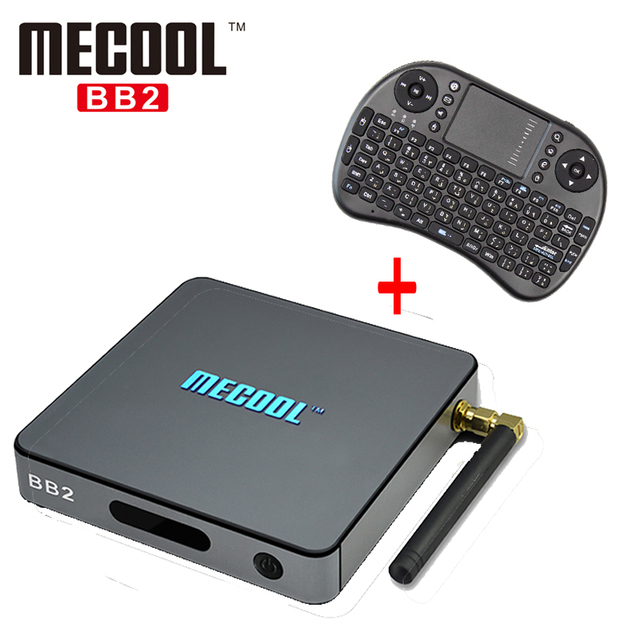 Amlogic S912 MECOOL BB2 Android 6.0 Tv Box 2 GB RAM 16 GB Inteligente Caixa de Tv Bluetooth 4.0 2.4G/5.8G Dupla WiFi 1000 M LAN Set Top Box
