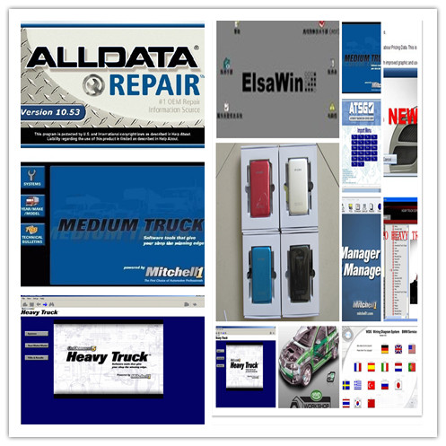 US $99 9 |alldata 10 53 and mitchell on demand +moto heavy truck+atsg  newest full 49in1 hdd 1tb auto repair software-in Software from Automobiles  &