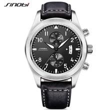 SINOBI Quartz male watches Sports Watches relaxation Mens St