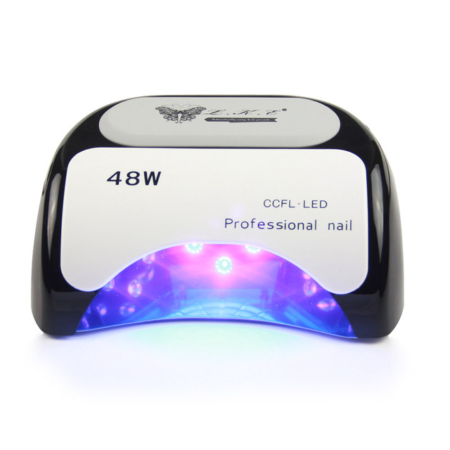 Beautiful 48W Nail Dryer Polish Machine CCFL UV Lamp LED Nail Lamp For Gel Nail  Polish Art