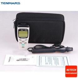 Miernik prędkości powietrza anemometr prędkości powietrza anemometr Tester-20 ~ 60 C TM403