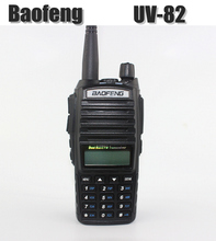 Portable Baofeng UV-82 Walkie Talkie Black Dual Band VHF/ UHF Ham Radio Transceiver  Baofeng UV 82