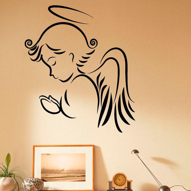 Praying Angel Wall Sticker