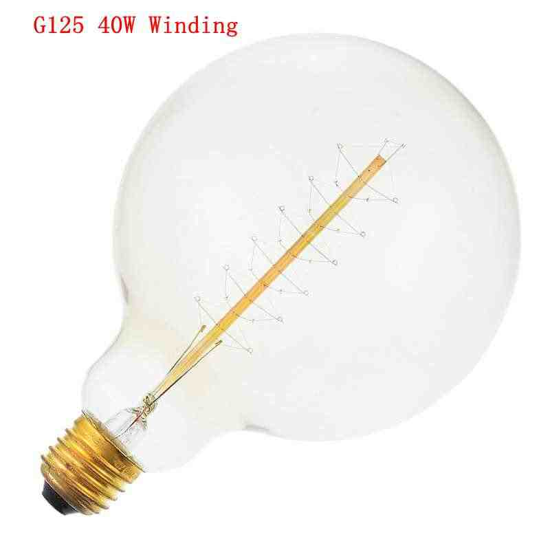 1 шт. лампы накаливания Винтаж Эдисон лампы E27 220 V подвесной светильник в стиле ретро 40 wampoule старинная лампочка Эдисон лампы лампа накаливания Эдисона