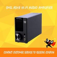 ФОТО asd smsl ad18 hi-fi audio stereo amplifier bluetooth 4.2  full digital power amp support apt-x usb dsp 2.1 for speaker