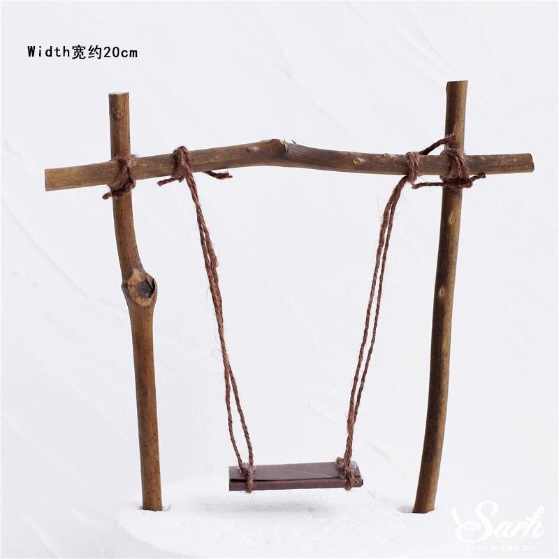 Wood swing A