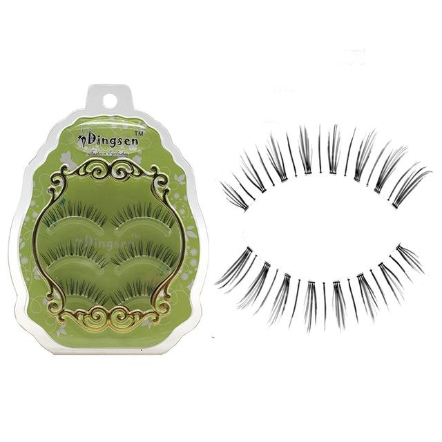 3 Pair False Eyelash Natural Long Fake Eyelashes For Small Eyes Hand