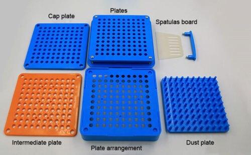 100 Holes Capsule Filler 0 Capsule Filling Machine Flate font b Tool b font Food Grade
