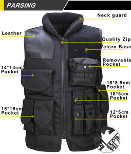 Image 2 - High Quality Tactical Vest Black Mens Military Hunting Vest Field Battle Airsoft Molle Waistcoat Combat Assault Plate Carrier
