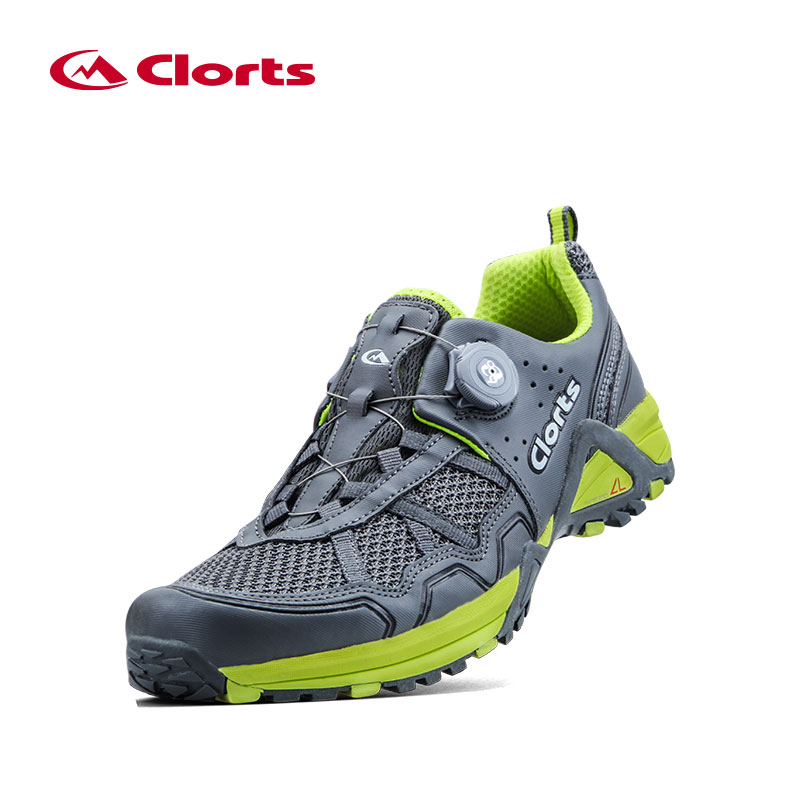 ФОТО 2016 Clorts Men New BOA Running Shoes 3F013B/D Lightweight Breathable Running Outdoor Shoes for Men
