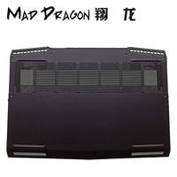MAD Дракон новый ноутбук Нижняя крышка основания нижней части корпуса черный для Dell Alienware M17 ALW17M ALW17M 2746S M17 0X9KD1 X9KD1