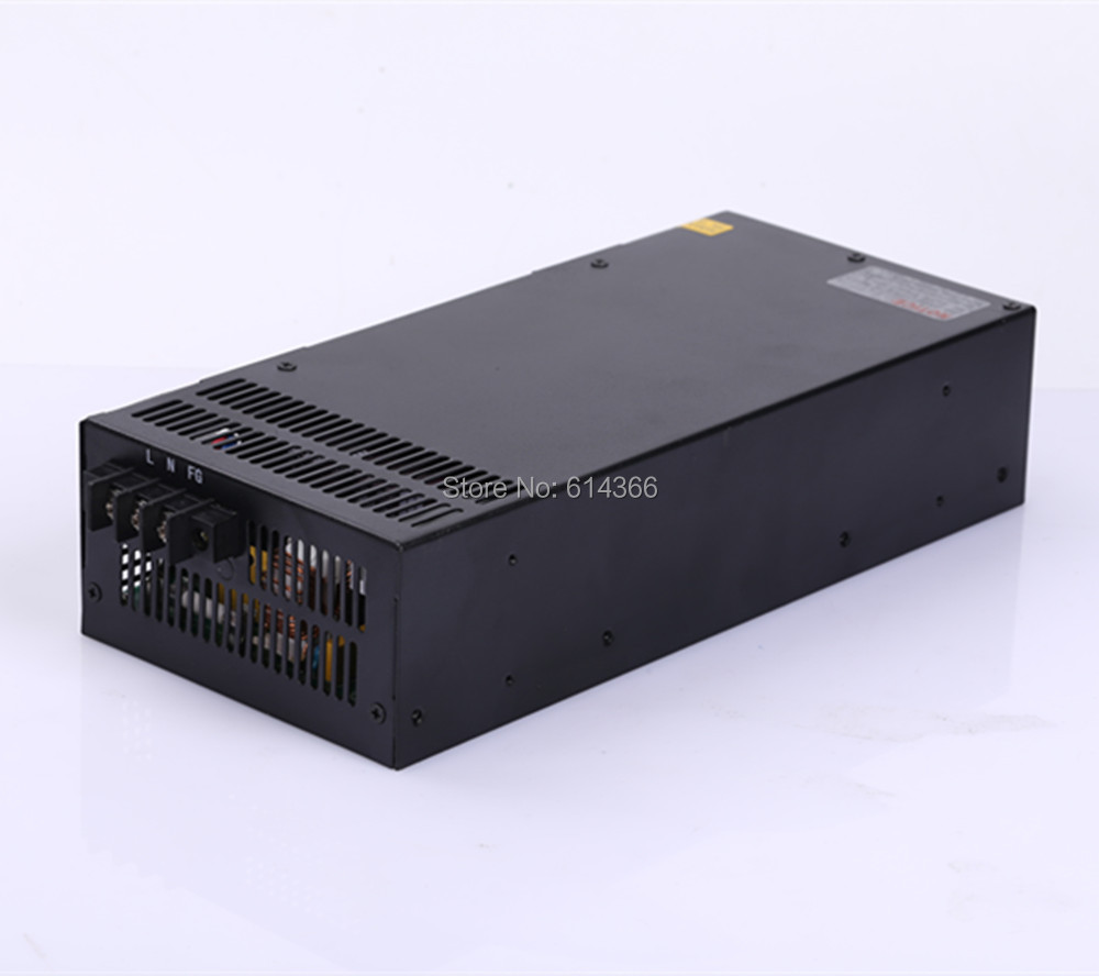 1pcs Industrial grade power supply 1000W 30V Power Supply 30V 33A AC-DC High-Power PSU 1000W S-1000-30 30V33A industrial grade 500w 24v power supply 24v 20a ac dc high power psu 500w dc24v