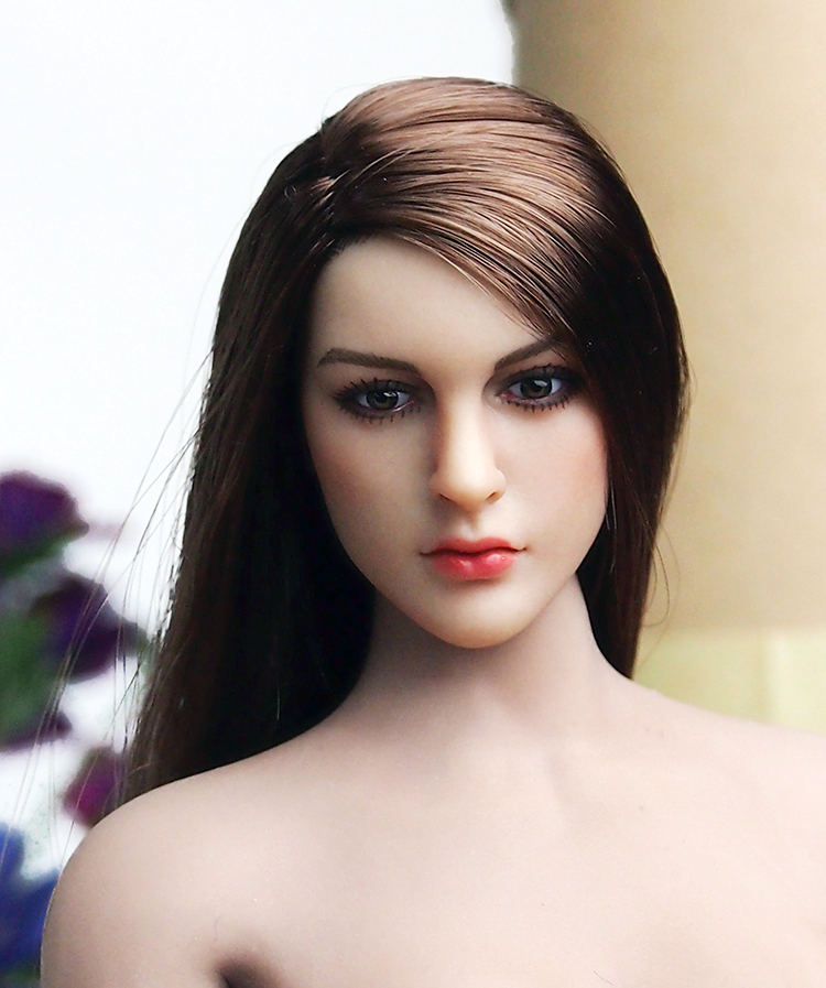 """US Female Head Sculpt Model Toy 1//6 Scale KIMI TOYS KT007 For 12/"""" Phicen Figure"""
