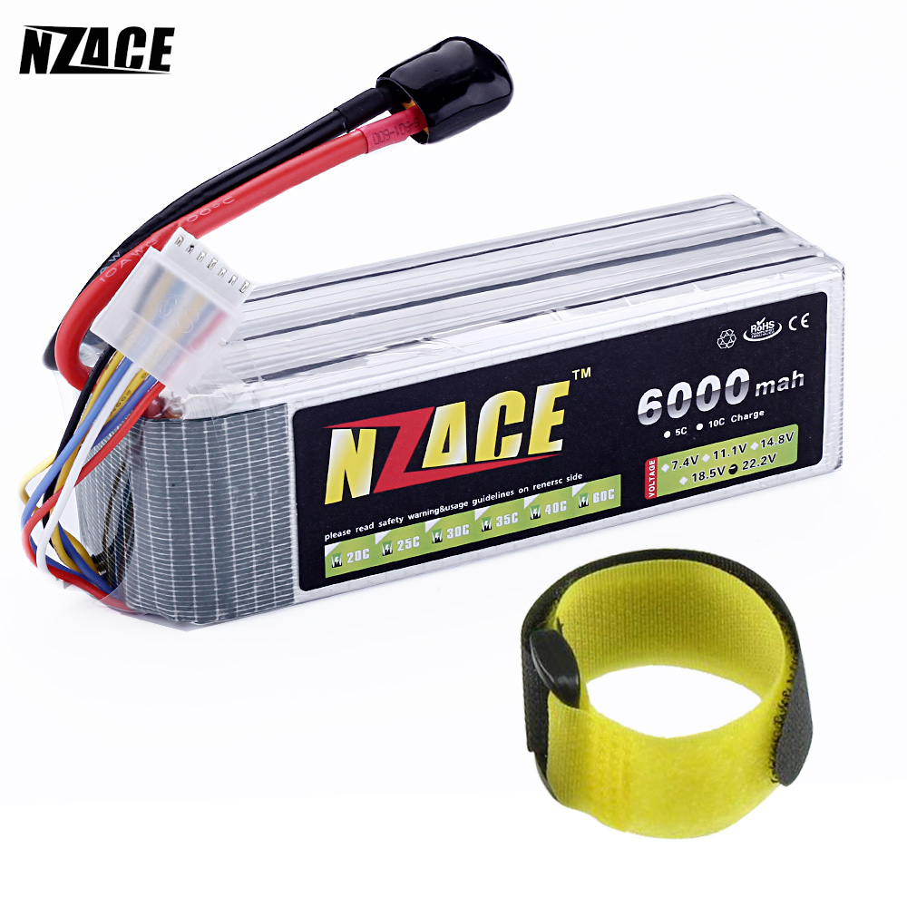 NZACE POWER 6S lipo battery 22.2v 6000mah 60c rc helicopter rc car rc boat quadcopter remote control toys Li-Polymer battey nzace power 6s lipo battery 22 2v 4200mah 60c rc helicopter rc car rc boat quadcopter remote control toys li polymer battey