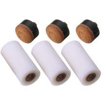 5 шт. 13 мм винт на Кии наконечники для бильярдный кий и снукер кий запасные части палка ремонт инструмент Спорт
