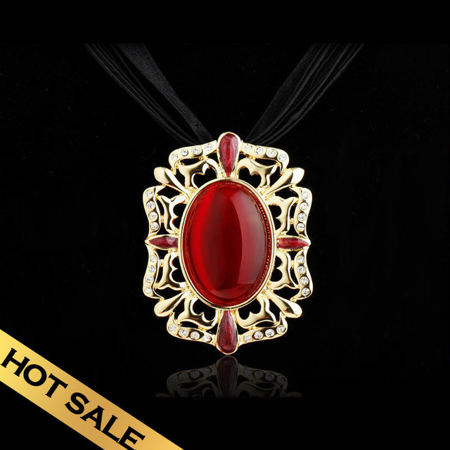 Special Choker Necklaces Synthetic Opal Synthetic Diamond Vintage Multi-layer Design Free Shipping Pendant Jewelry XLQ121115