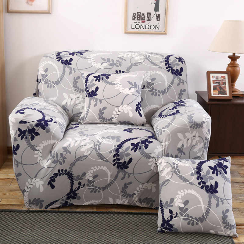 Remarkable Floral Sofa Cover Elastic Stretch Single Seat Sofa Couch Cover Slipcovers Furniture Protector Case For 1 Seater Arm Chair Cover Caraccident5 Cool Chair Designs And Ideas Caraccident5Info