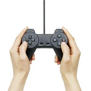 Image 4 - Black Wired Gamepad Usb 2.0 Joystick Controller Joypad Controle Voor Pc Laptop Computer Voor Pc Laptop Computer Voor Win7/8/10